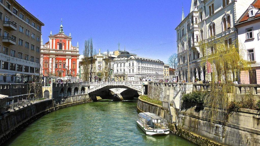 Europas minsta huvudstäder: Ljubljana