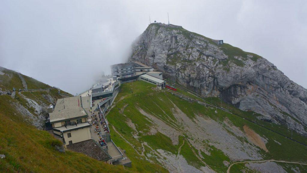 Luzern berget Pilatus