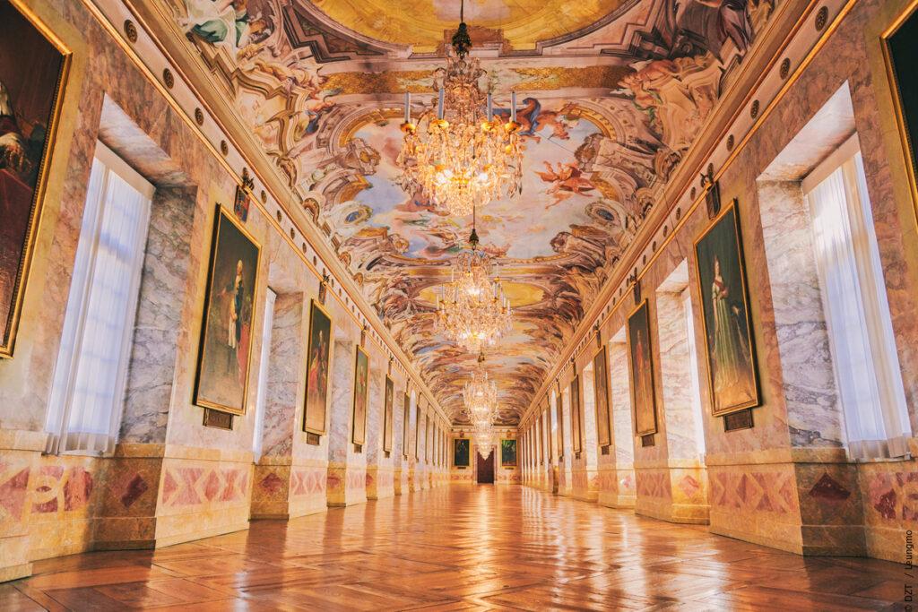 Världen i Tyskland - slottet Ludwigsburg