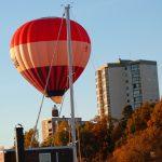 Nära ögat – en luftballong i Pampas marina