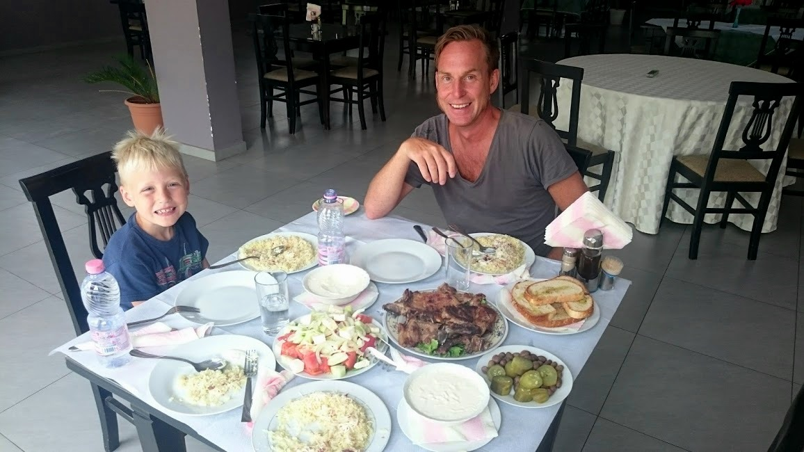 Lunch i Albanien