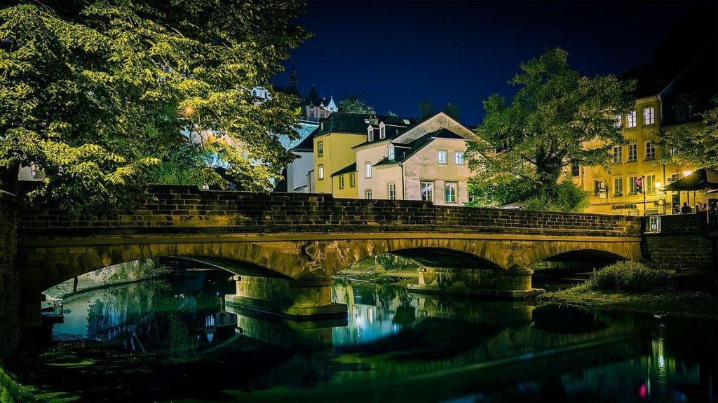 Europas minsta huvudstäder: Luxemburg