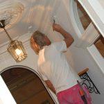 Vi målar om i lägenheten
