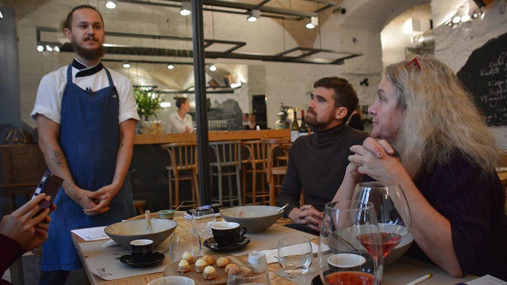 Restauranger i Budapest - Mák Bistro