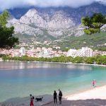 Makarska i Kroatien – vid Kroatiens riviera
