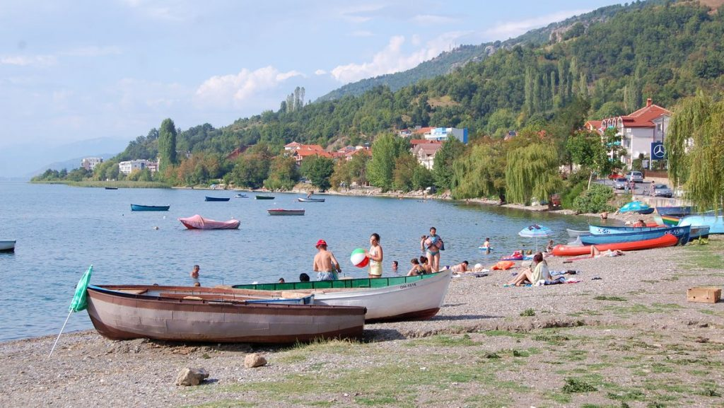 Makedonien Ohridsjön