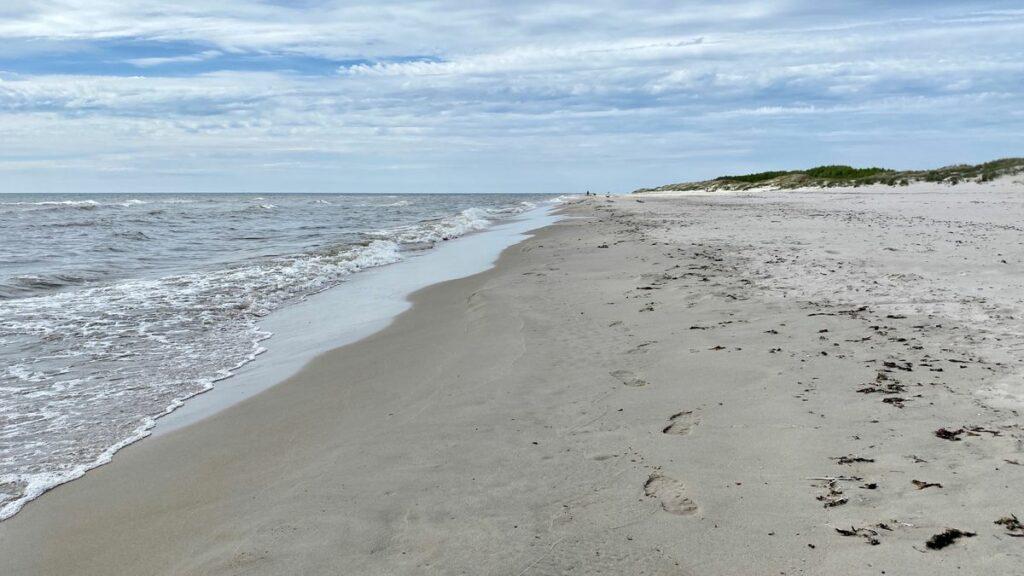 Sandhammaren strand