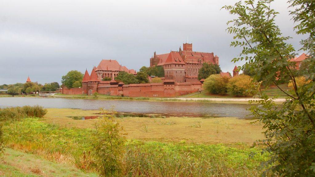 Malbork borg i Polen