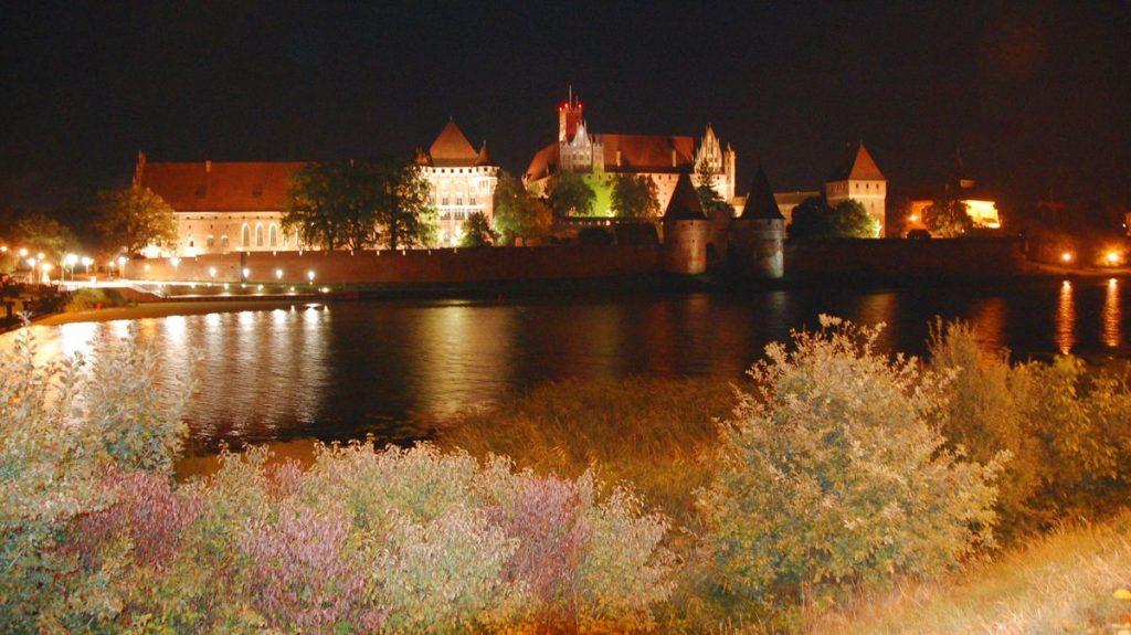 Borgen Malbork i Polen