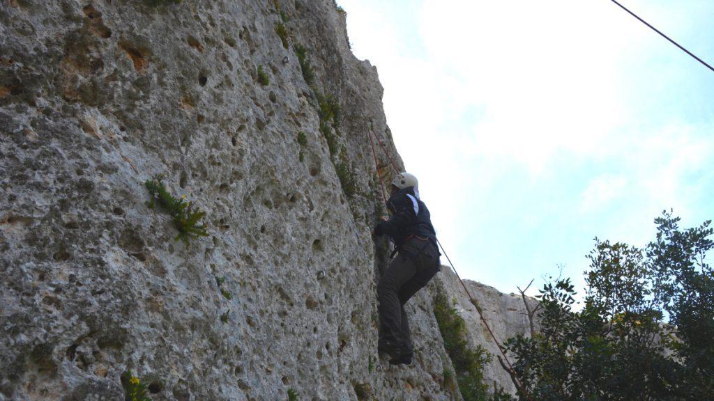 Malta klättring
