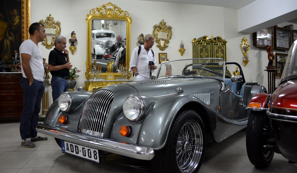 Privat samling av bilar