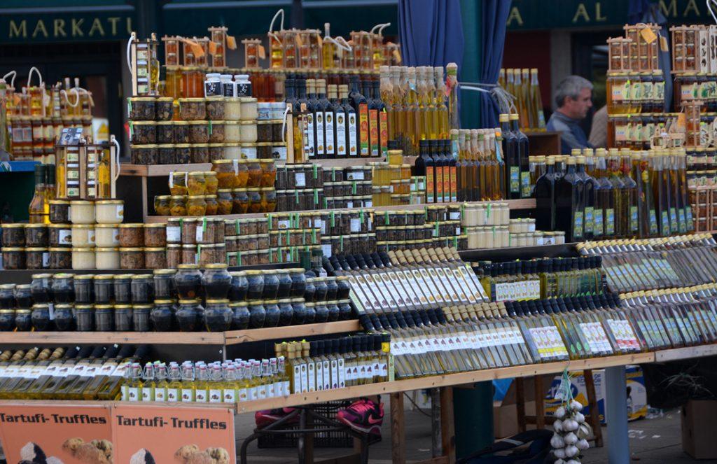 Marknad i Rovinj