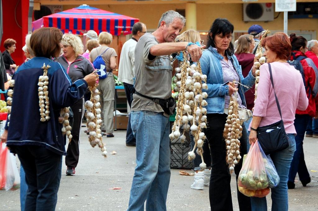 Upplevelser i Split: Grönsaksmarknad