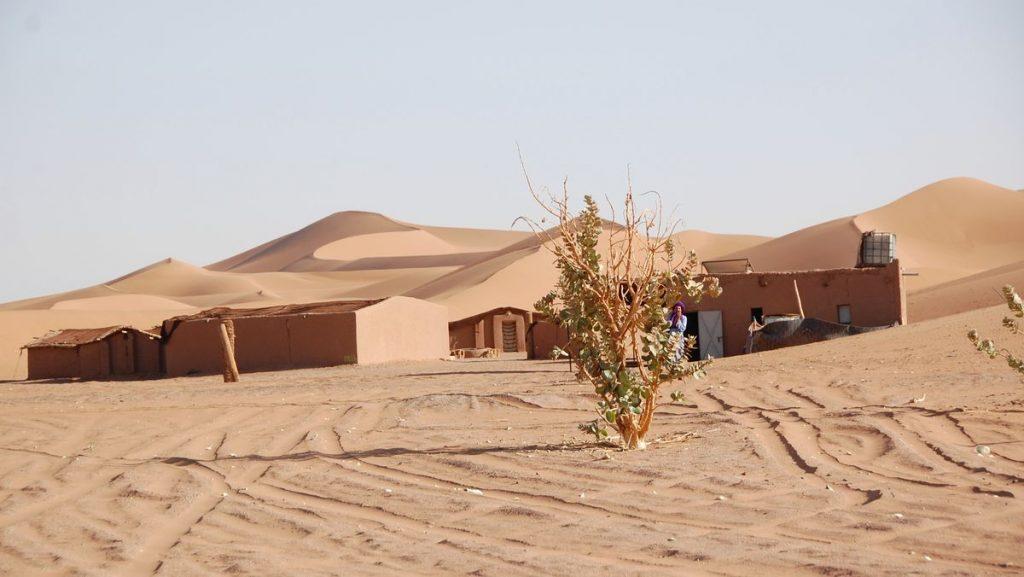 Marocko ökenläger