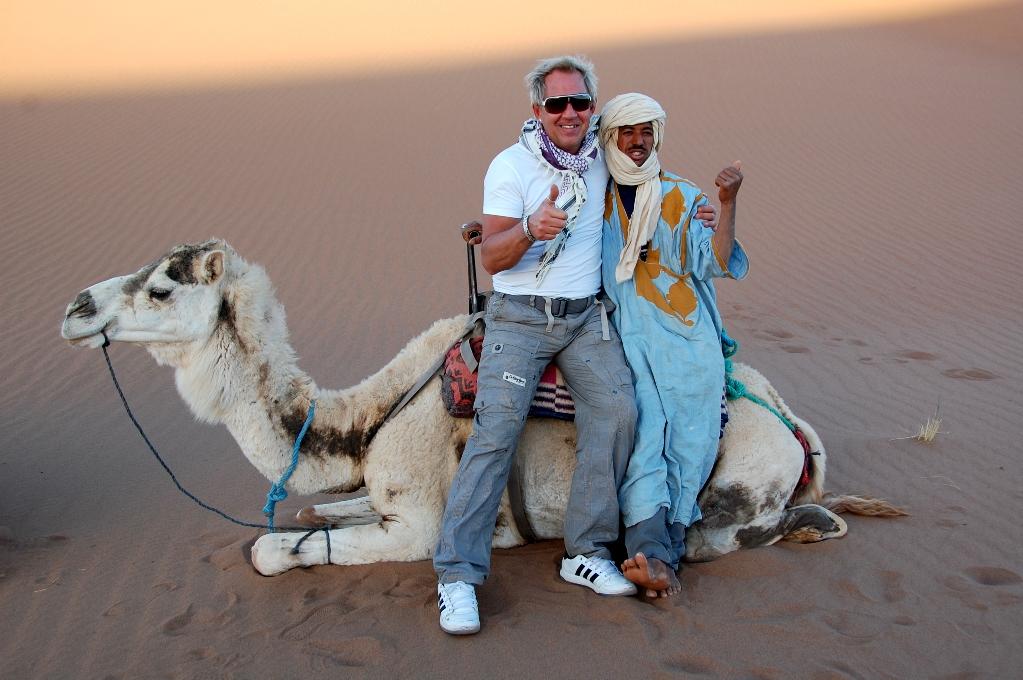 Peter & company i Sahara
