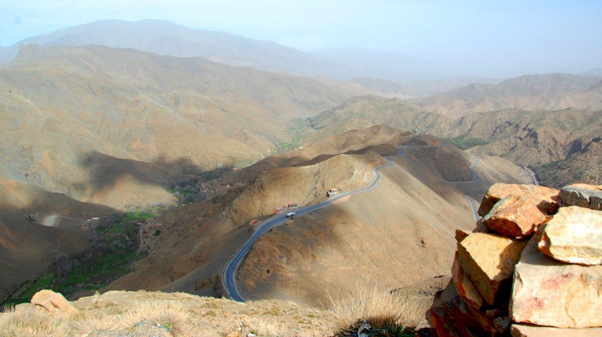 Marocko vägar