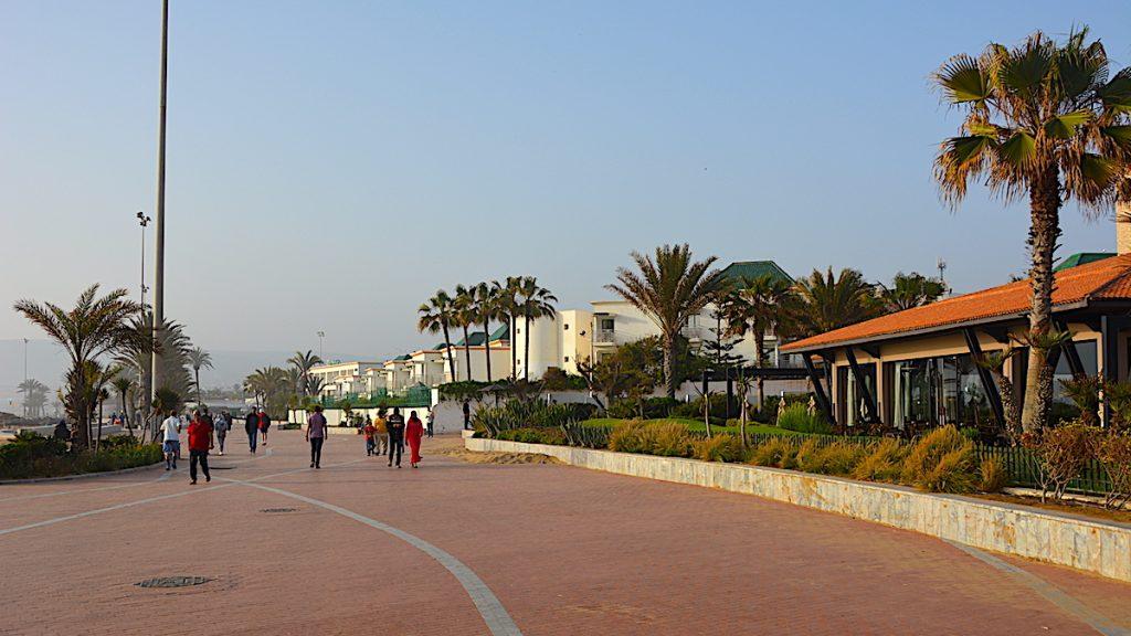 Strandpromenad Agadir