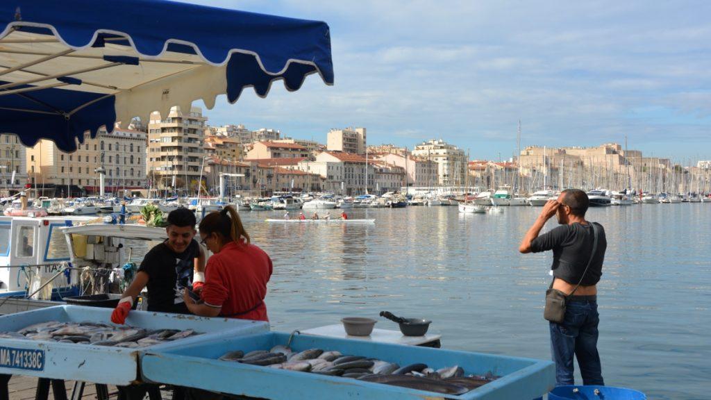 Marseille fiskmarknad