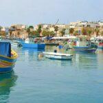 Marsaxlokk på Malta – en pittoresk fiskestad
