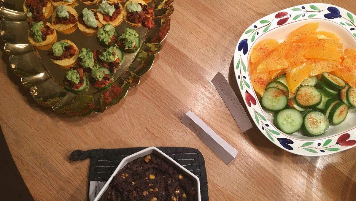 Mat från Mexiko