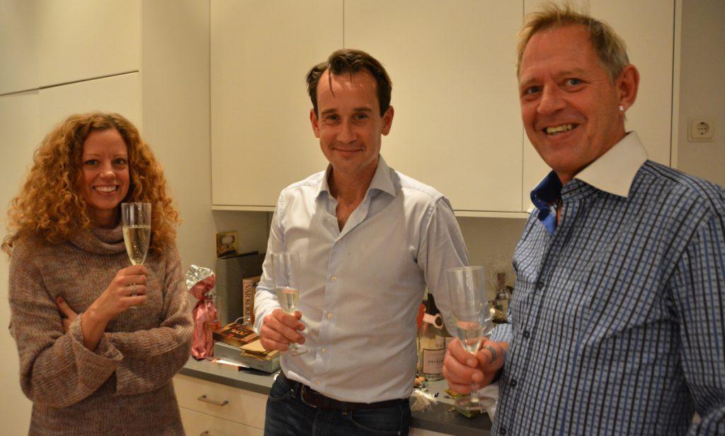Anna från Turisterna, Christian från Matochresebloggen och Peter från FREEDOMtravel