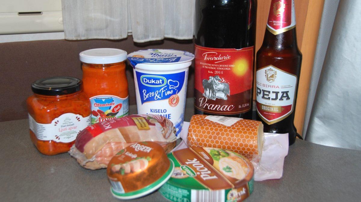 Mat på Balkan