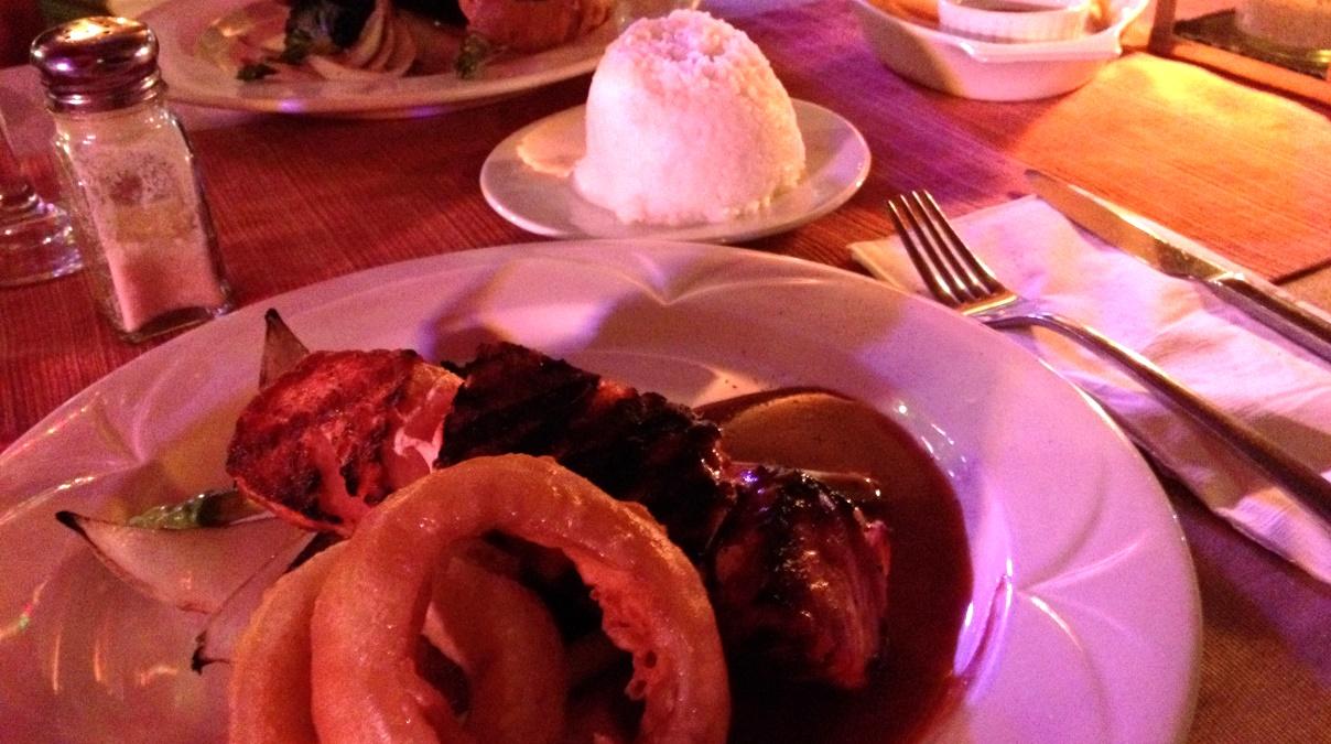 Mat på Filippinerna