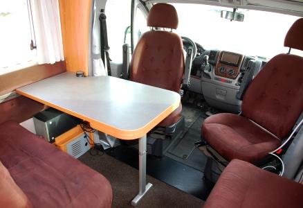 Matbord husbil