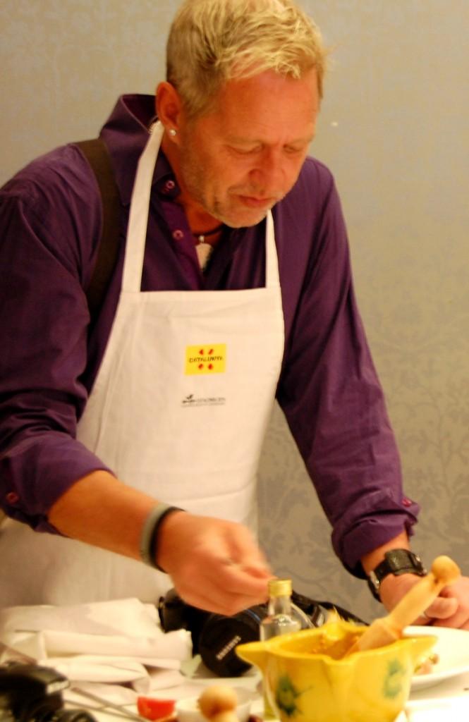 Matlagning Katalonien