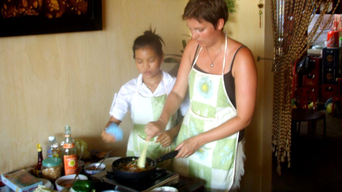 Att göra i Hoi An: Matlagningskurs