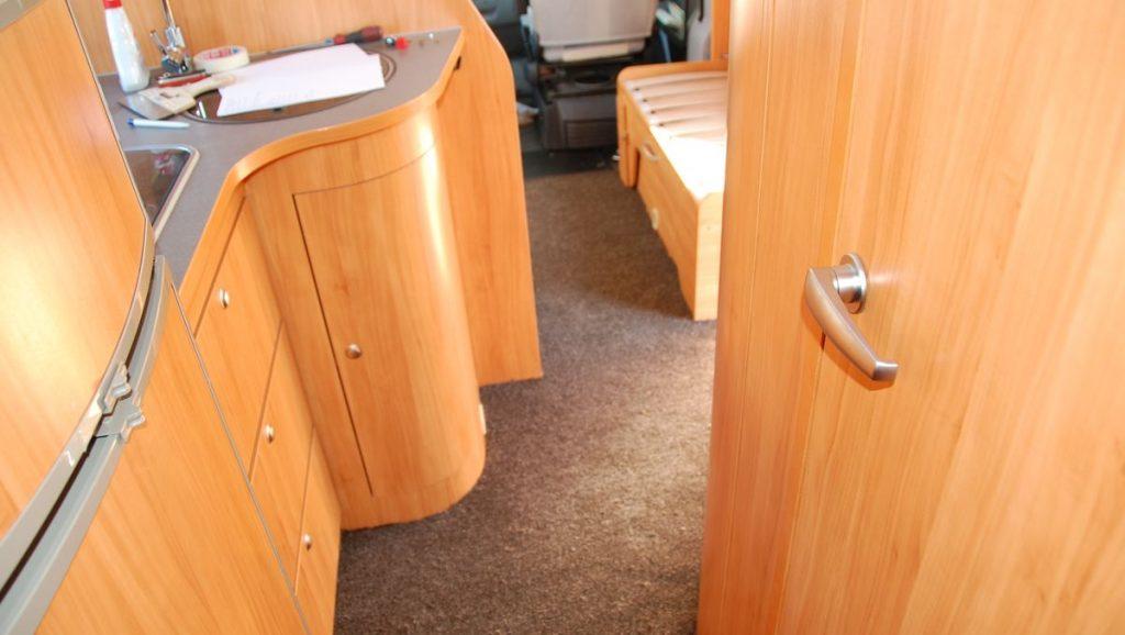 Ny matta i husbilen - från en annan vinkel