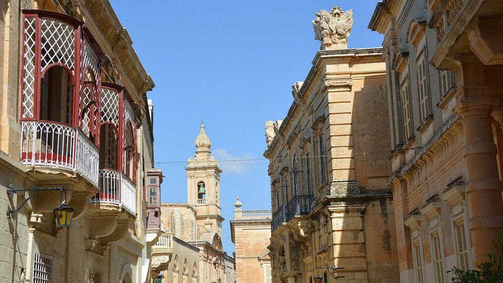 Sevärdheter på Malta - Mdina