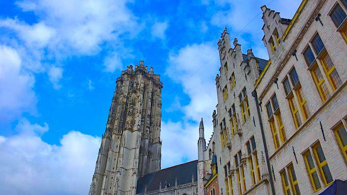 Mechelen i Belgien