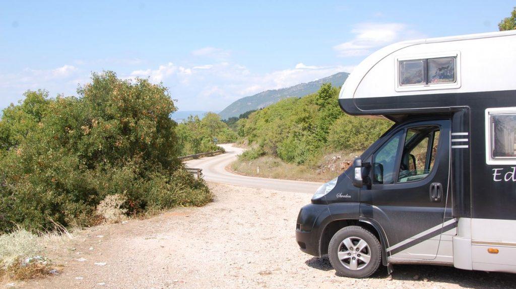Med husbil i Makedonien