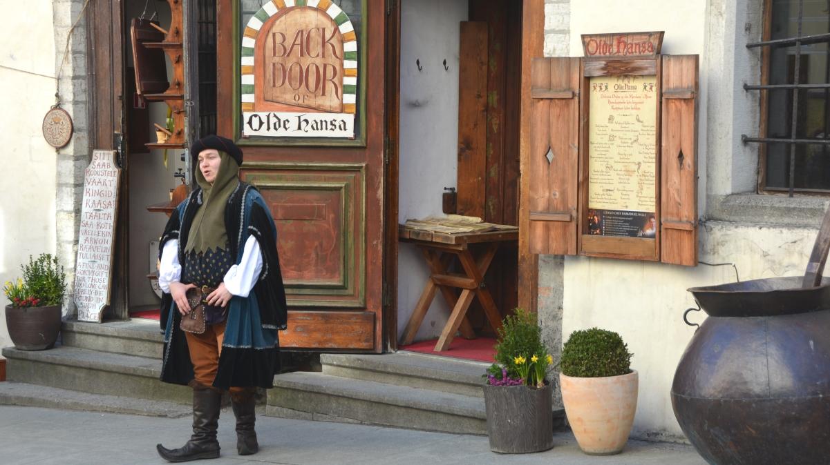 Medeltidsrestaurang Tallinn