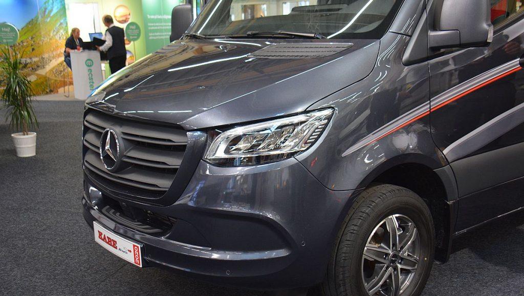 Mercedes chassi på husbil