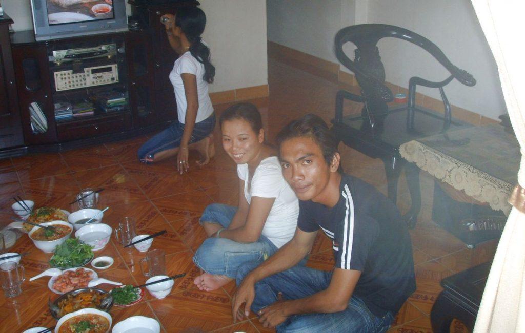 Middag hemma hos i Vietnam