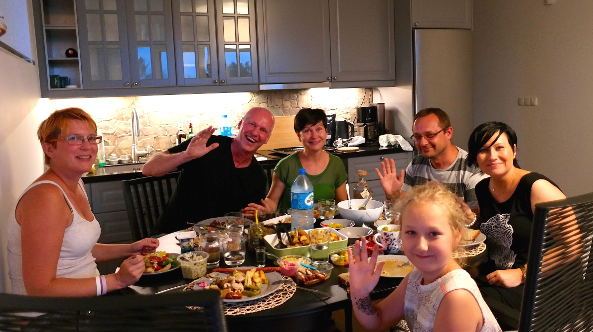 Middag i Polen