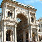 Aperitivo och shopping i Milano, Italiens modestad