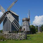 Ösel i Estland – väderkvarnarnas ö