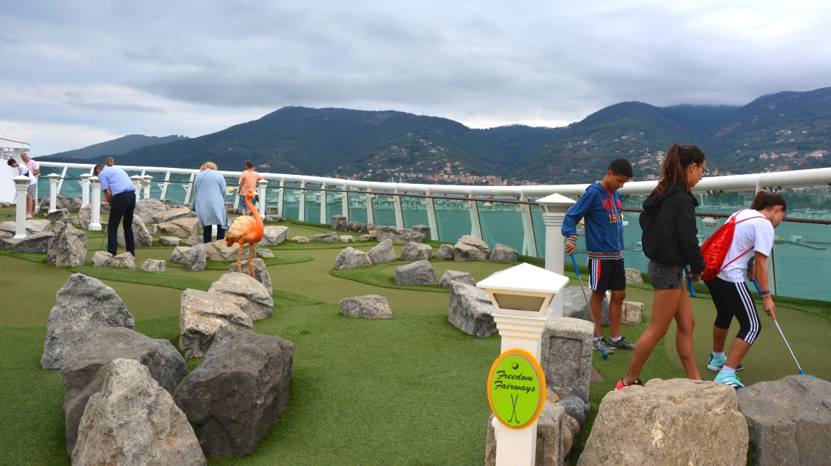 Minigolf Freedom of the Seas