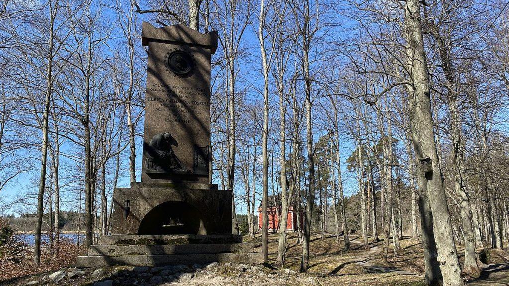 Monument vid Rydboholms slott