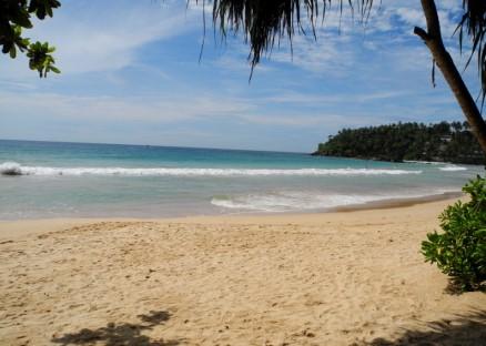 Mirissas underbara strand