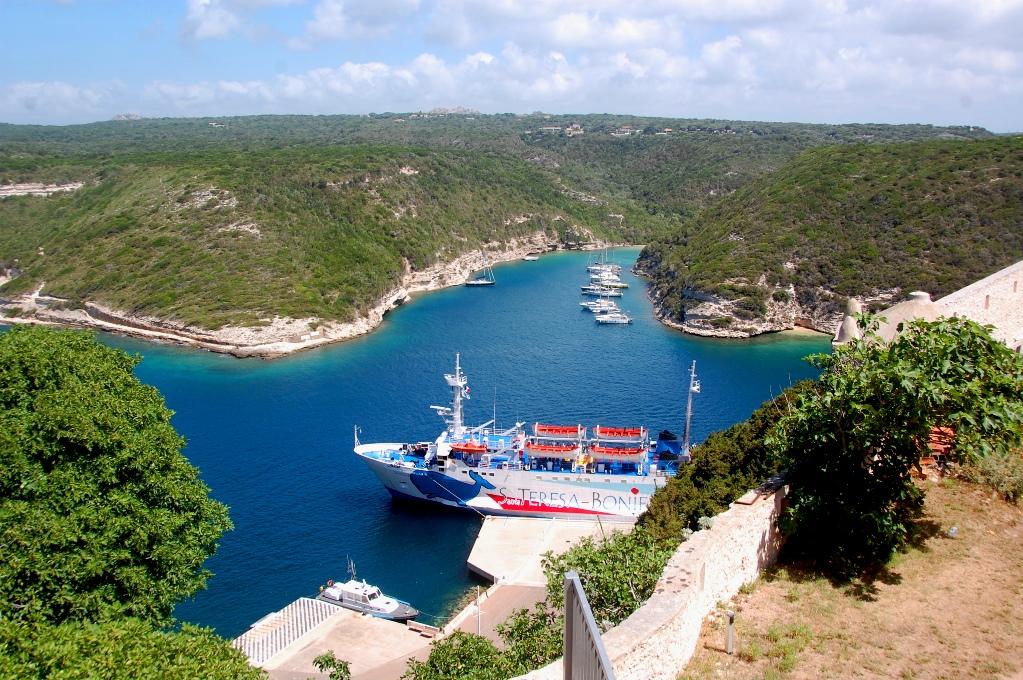 Färja Korsika - Sardinien