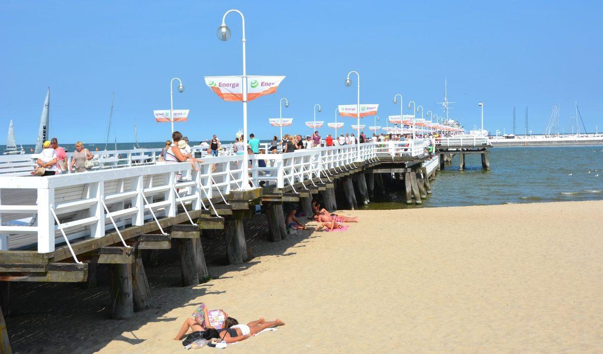 Rivieran i polen och Molo Sopot