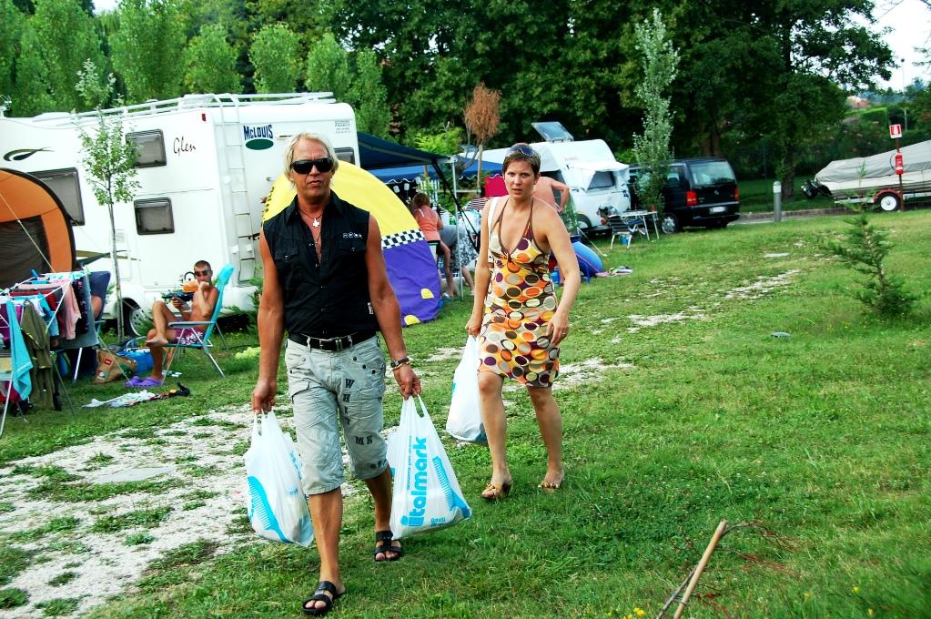 Campingar och ställplatser i Italien