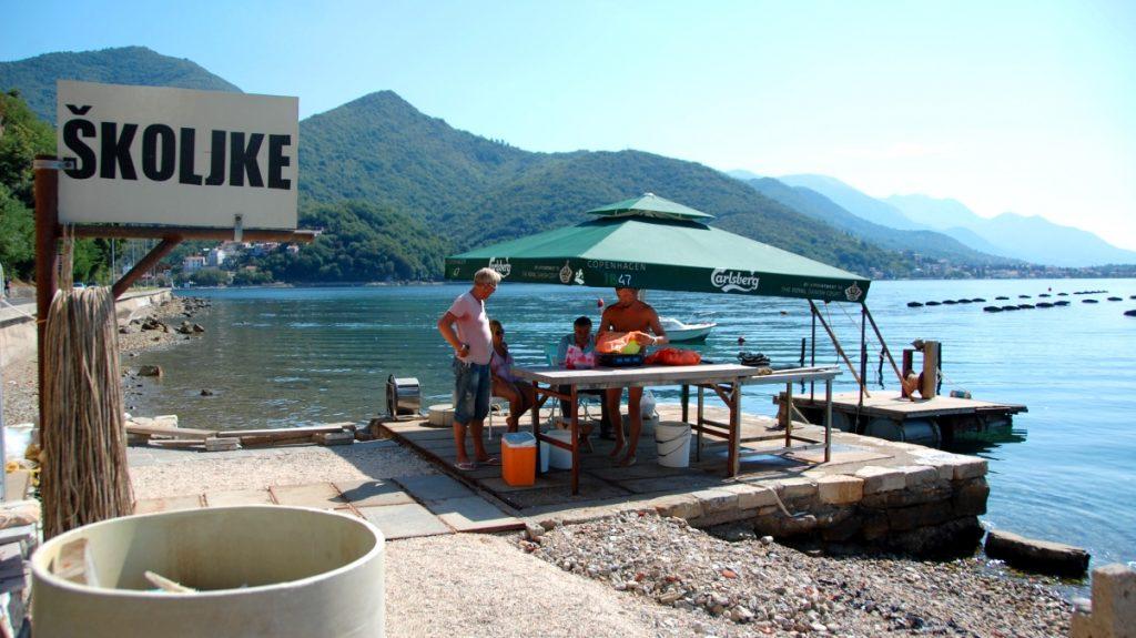 Montenegro musslor