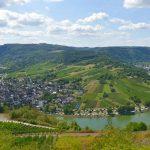 Med husbil i vackra Moseldalen i Tyskland
