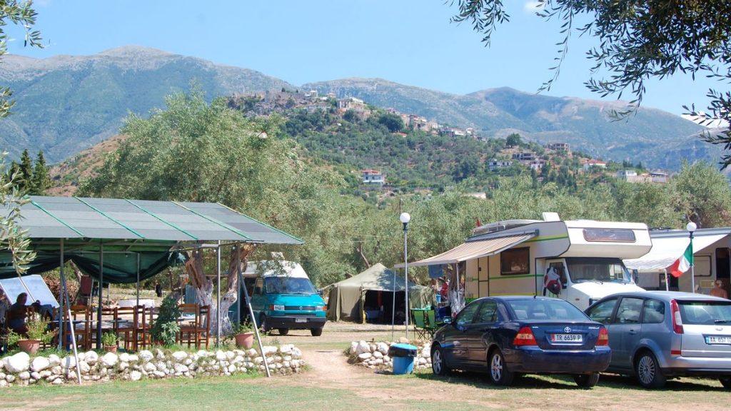 Camping Moskato från en annan vinkel