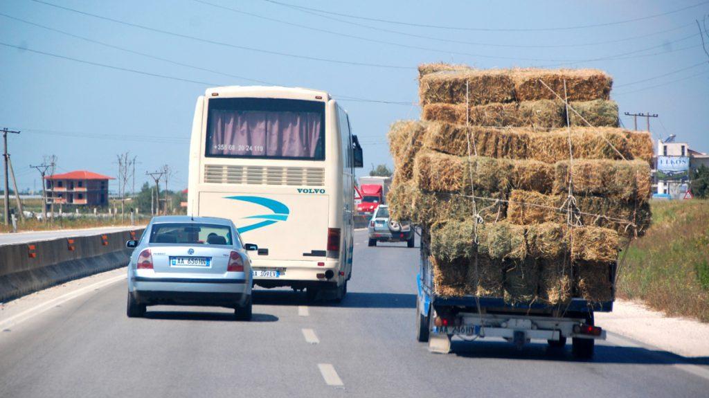 Motorvägar i Albanien